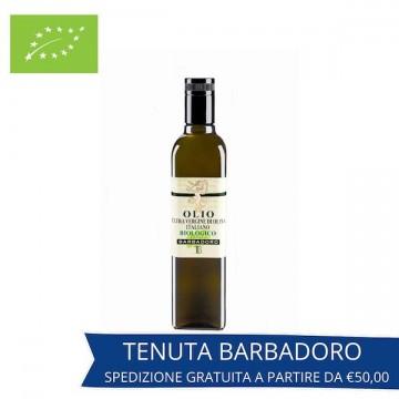 Olio Extravergine di Oliva Blended biologico (non filtrato) bottiglia
