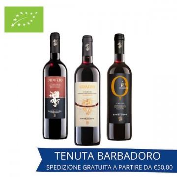 Set degustazione vino Rubino