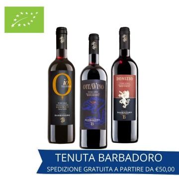 SET DEGUSTAZIONE VINO BOUQUET TENUTA BARBADORO