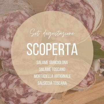 Set degustazione salumi SCOPERTA