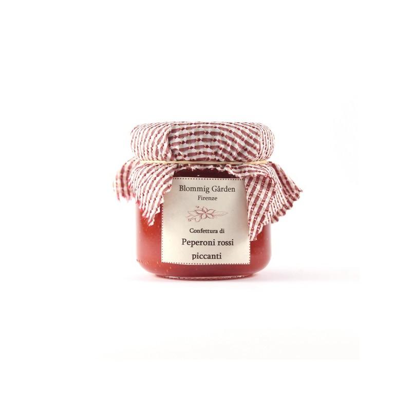 Confettura peperoni rossi piccanti
