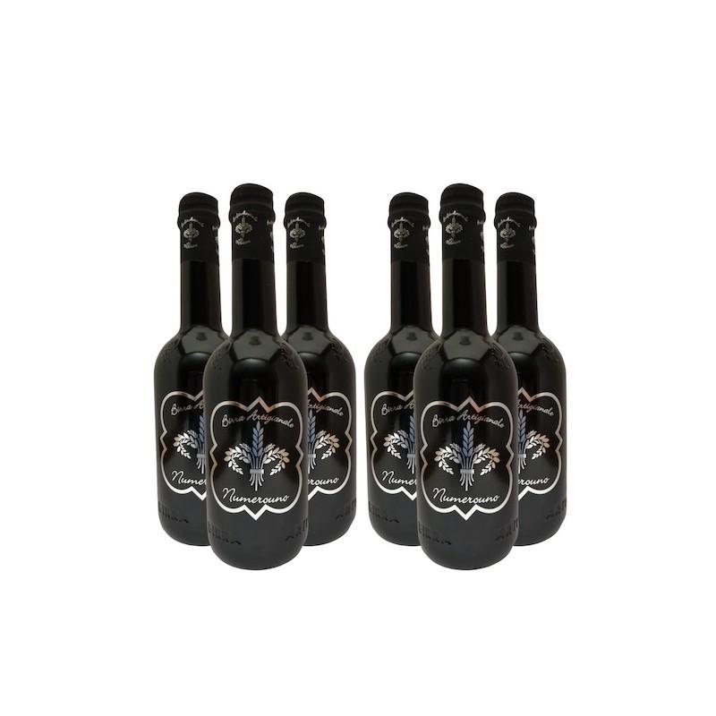 Birra NumeroUno - Imperial Stout - Set bottiglie birrificio lilium