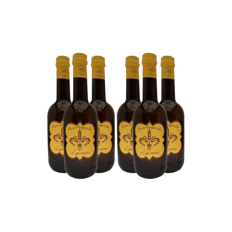 Birra al miele Ligustica - Set bottiglie birrificio lilium