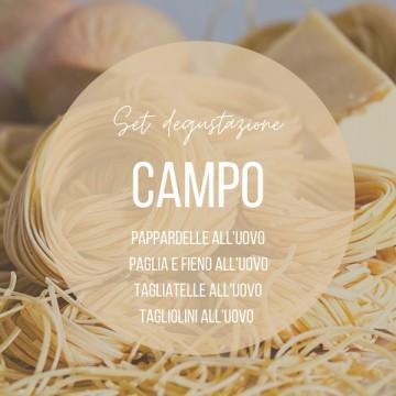 Set degustazione pasta CAMPO