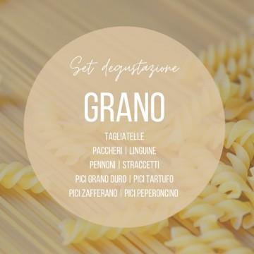 Set degustazione pasta GRANO