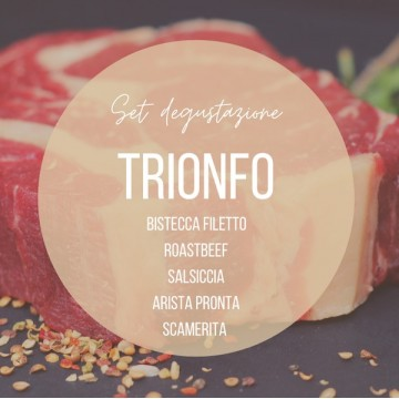 Set degustazione carne TRIONFO macelleria frittelli